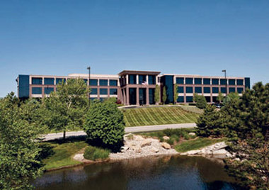 U.S. Central's headquarters building in Lenexa, Kan.,  is a 10-year-old 130,000-square-foot building that is best suited for  a company relocating operations.