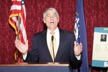 "Sen. Mark Udall called banker arguments opposing the MBL cap hike ""flat-out wrong."""