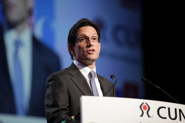 House Majority Leader Eric Cantor (R-Va.) told his Wednesday morning GAC audience that although the Dodd-Frank Act had good intentions, credit union members will pay the price of compliance.