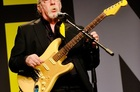 Former Doobie Brothers and Steely Dan guitarist Jeff Baxter at last year's THINK conference in Florida. He spoke and played Friday at the PCUA.