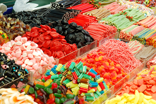 credit unions candy store