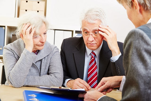 stressed retirees