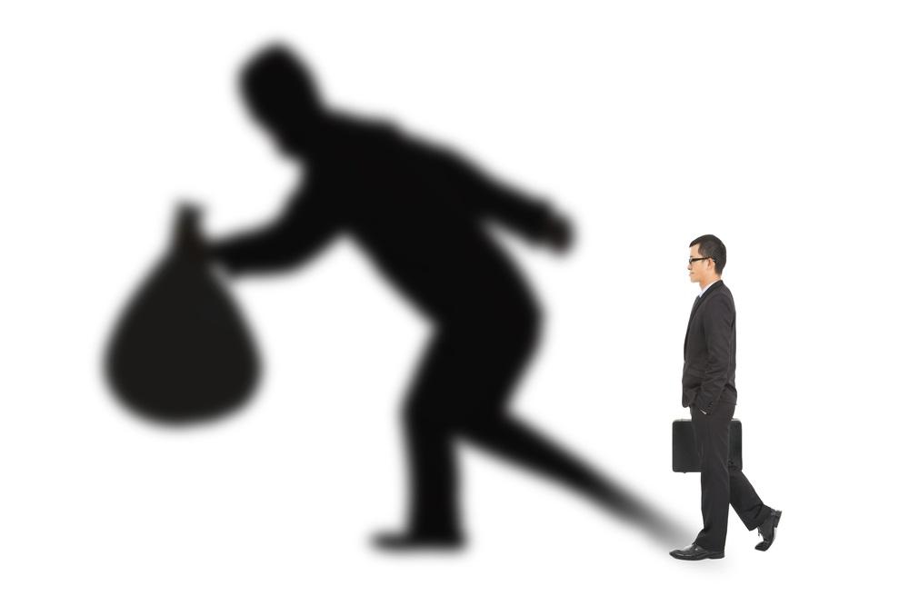 embezzlement shadow