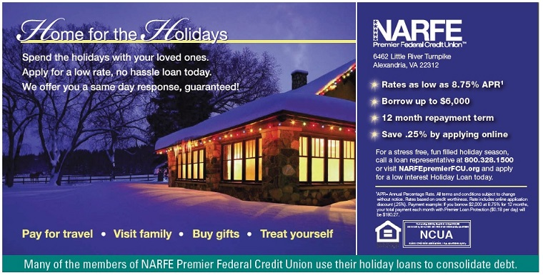 NARFE holiday loan