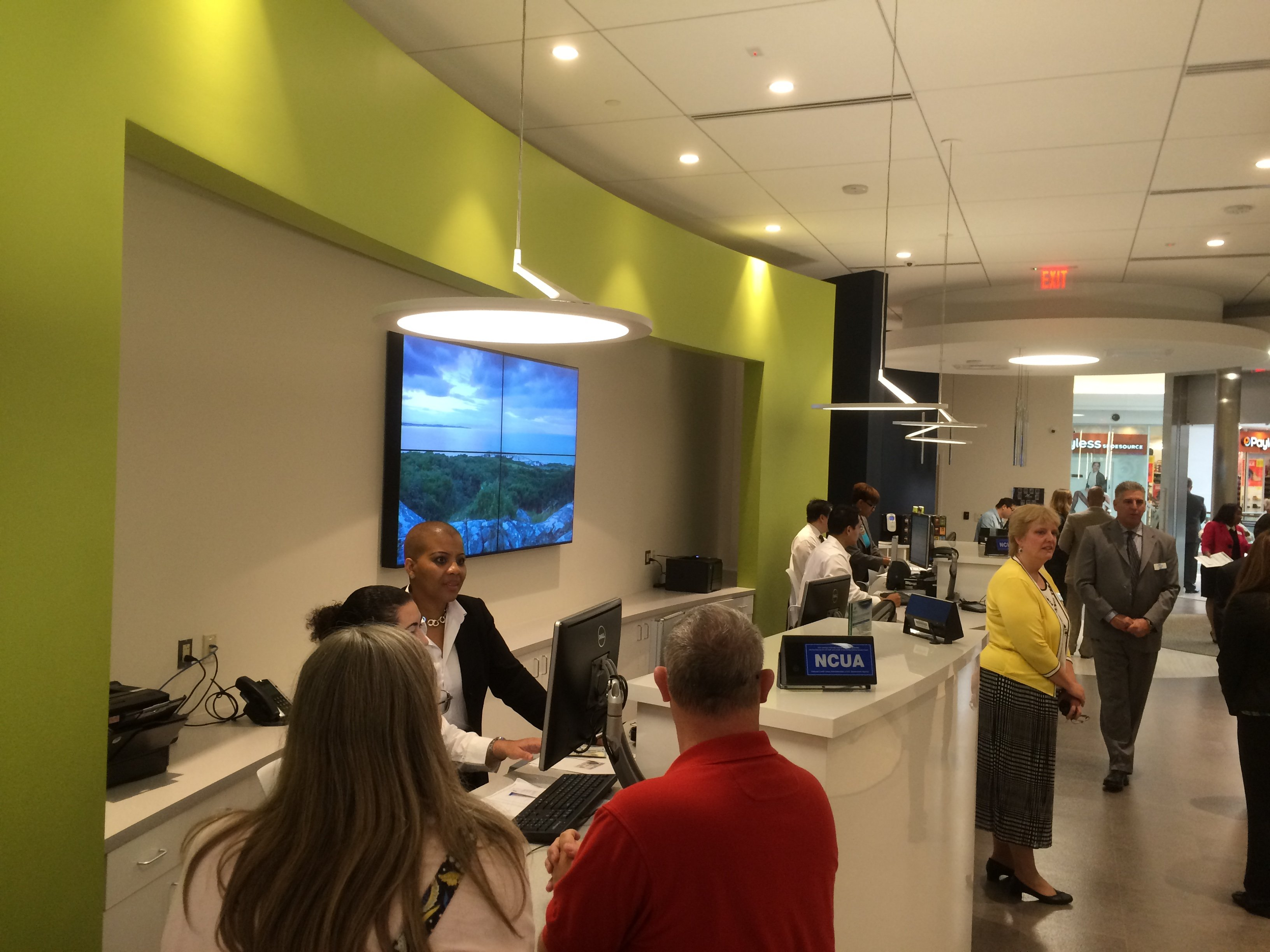 high tech branch Andrews Federal Credit Union