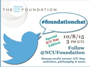 #foundationchat twitter chat national credit union foundation