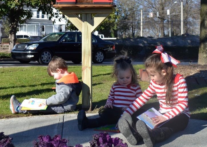 Little Free Library Finds Home At Peach State Fcu Credit Union Times