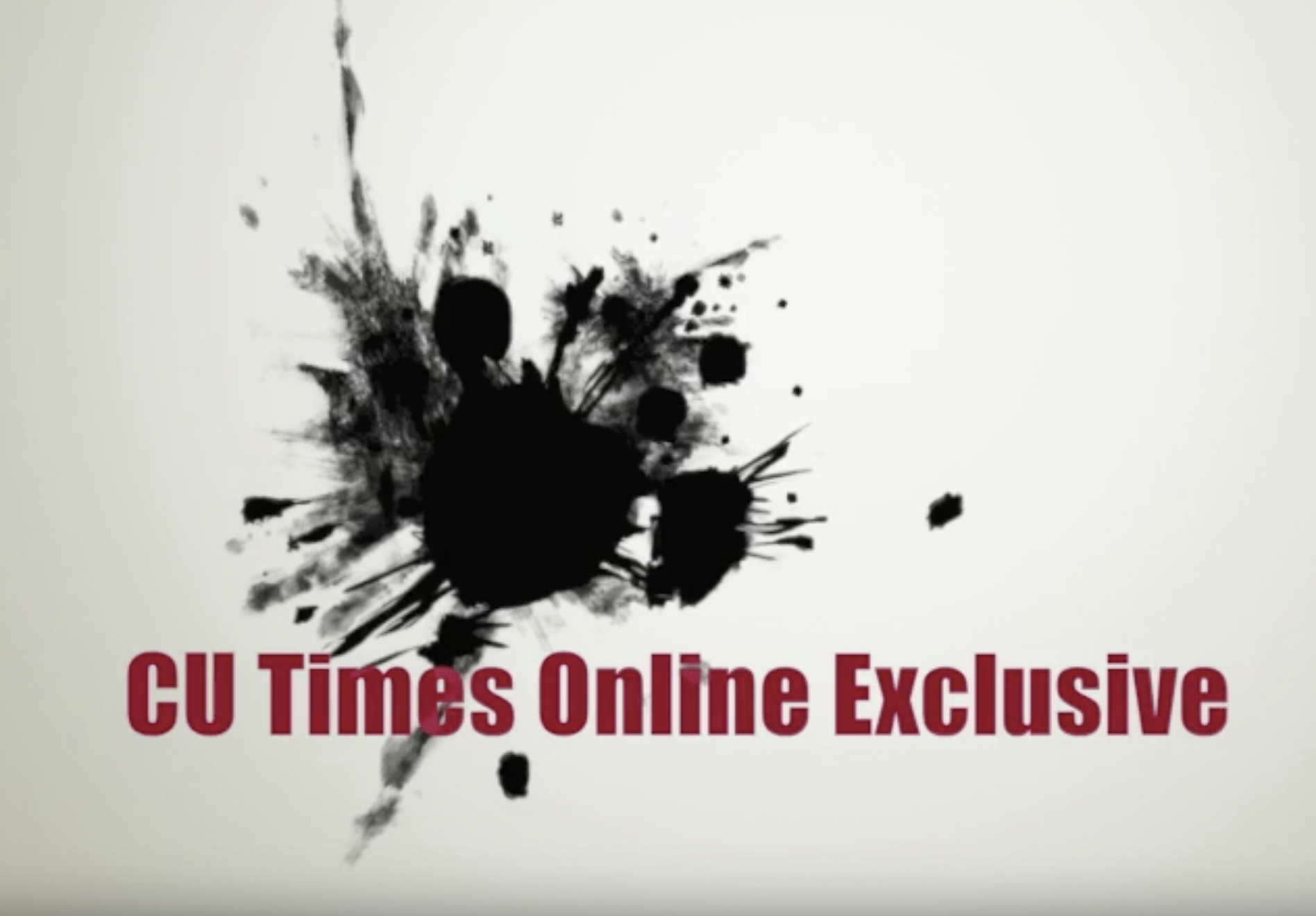 CU Times Online Exclusive